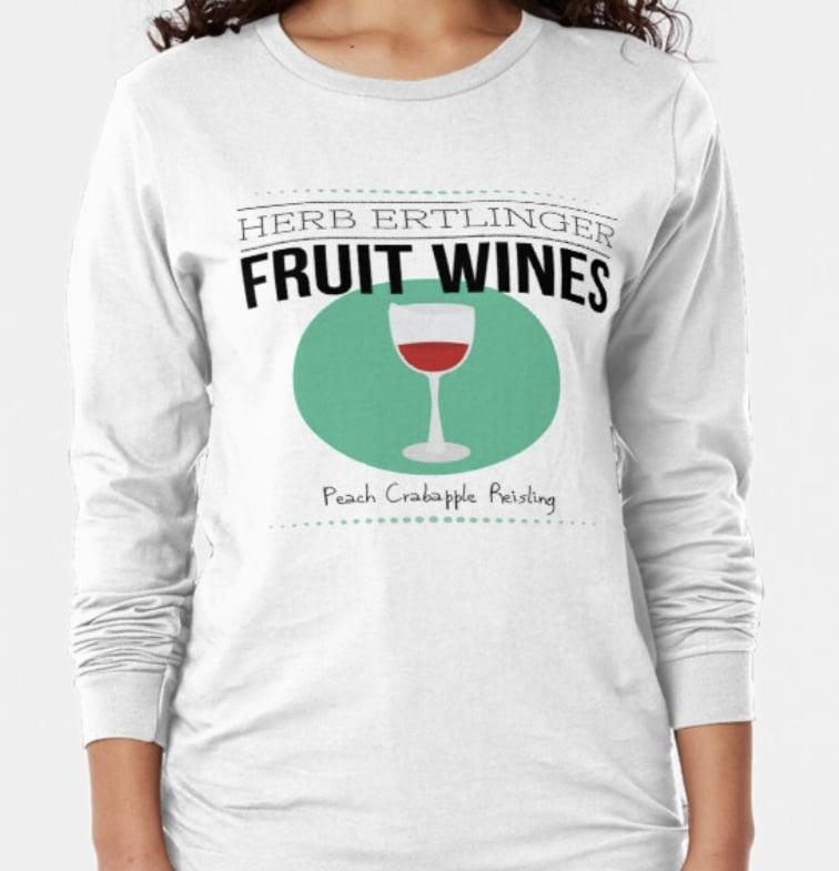 Schitts Creek Herb Ertlinger Fruit Wine Tee