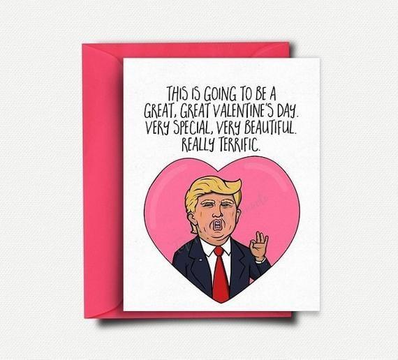 Donald Trump Card ($5) | Funny Valentine's Day Cards 2019 | POPSUGAR Australia Love & Sex Photo 42