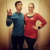 Spock and Uhura From Star Trek