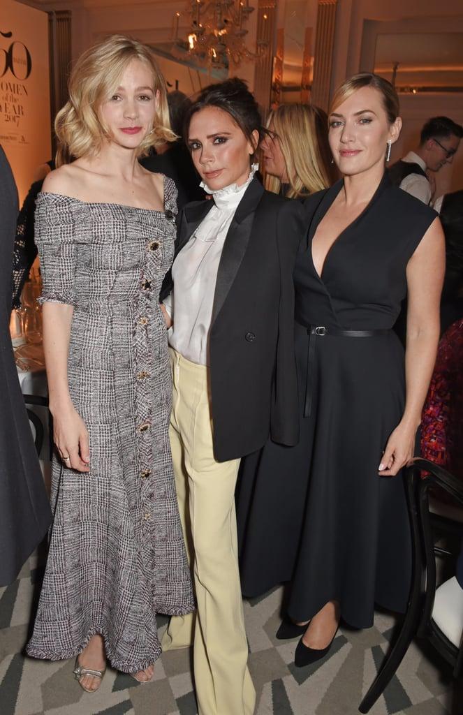Celebrities at Harper's Bazaar Women of the Year Awards 2017