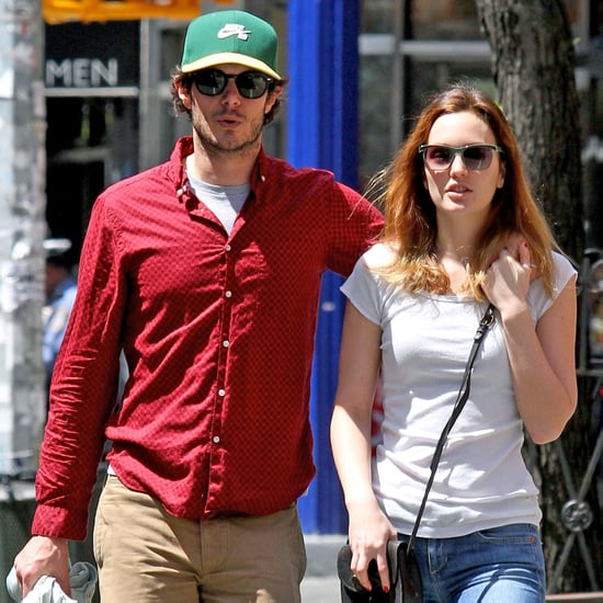 Leighton Meester and Adam Brody Take a Stroll in NYC