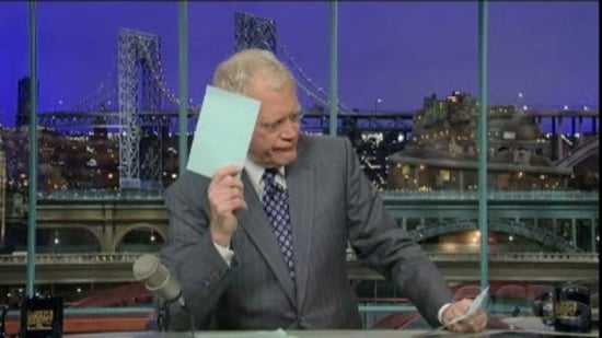 David Letterman's Gray Powell Top Ten List on The Late Show 2010-04-22 09:50:52