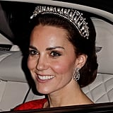 Kate Attending the Annual Diplomatic Reception at Buckingham Palace in 2016
