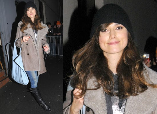 Photos of Keira Knightley Outside Theatre Following Performance in The Misanthrope in London