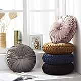 Cassiel Home Round Pintuck Throw Pillow