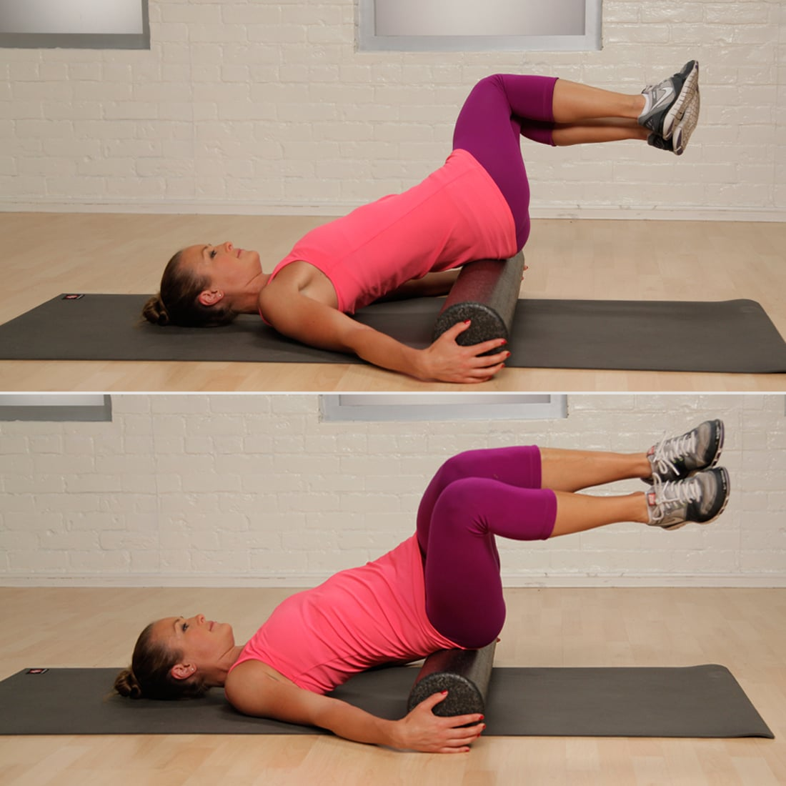 Knee Pain: Glute Roll