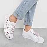 Adidas Originals Heart Print Superstar Sneaker
