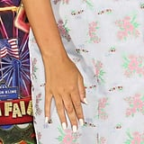 Millie Bobby Brown's Pearly White Nail Polish In November 2019