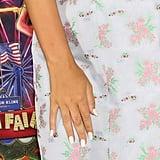 Millie Bobby Brown's Pearly White Nail Polish In November 2019