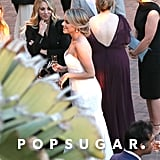 "Ali Fedotowsky and radio host Kevin Manno exchanged ""I dos"" in a beautiful beach wedding at LA's Terranea Resort in March 2017."