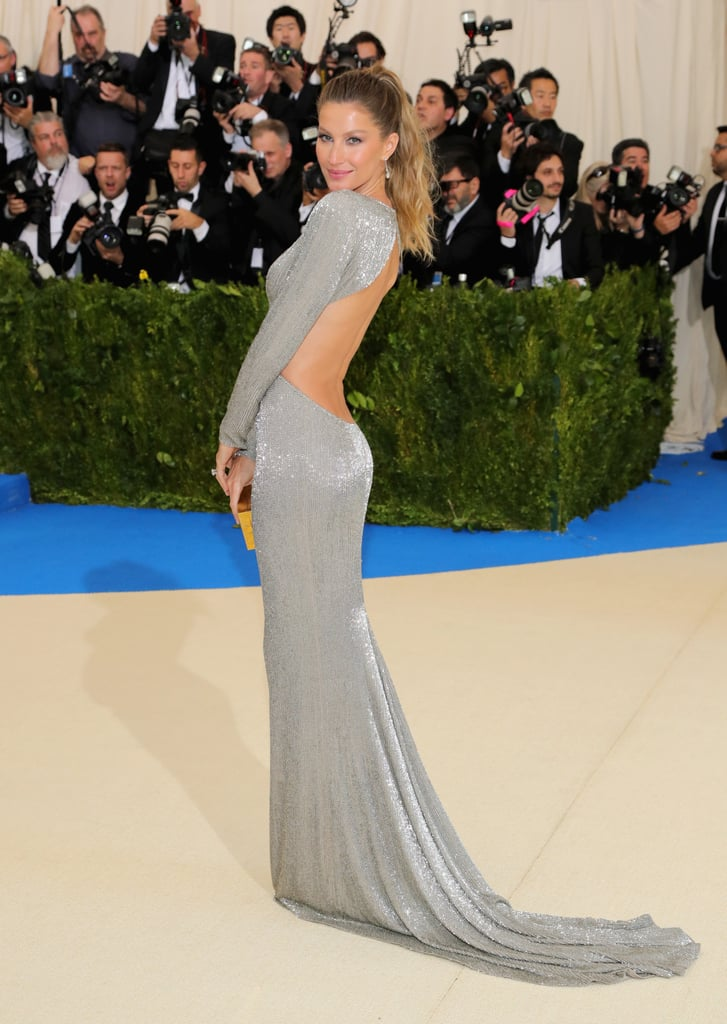 Gisele Bundchen Stella McCartney Dress Met Gala 2017 ...