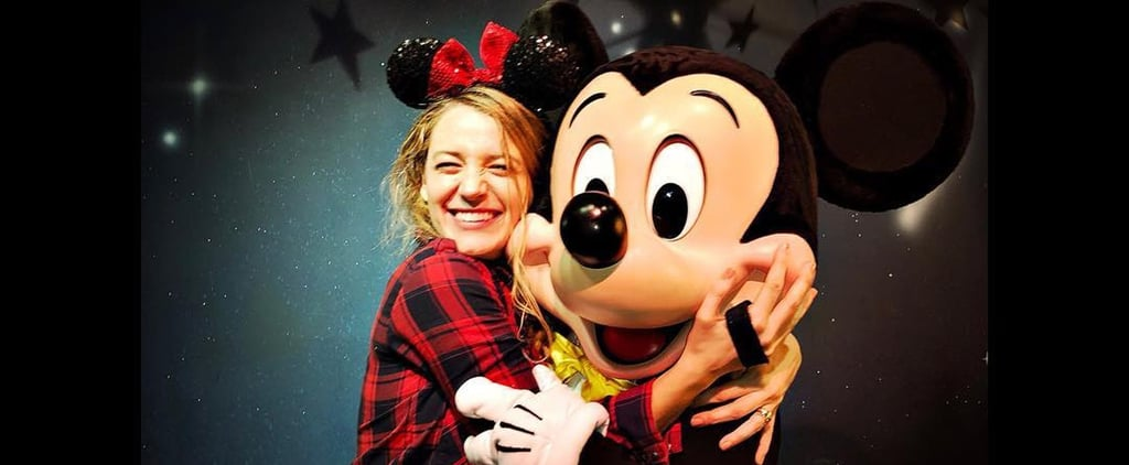 "Blake Lively Makes the Most of a Mom's Day Out at Disneyland, Applies For a Job as ""The Beast"""
