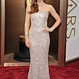 If Jessica had worn a curve-hugging dress on the red carpet, we're sure she would have created some Blake Lively-type buzz.