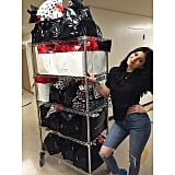 Kylie's Turn to Give Back