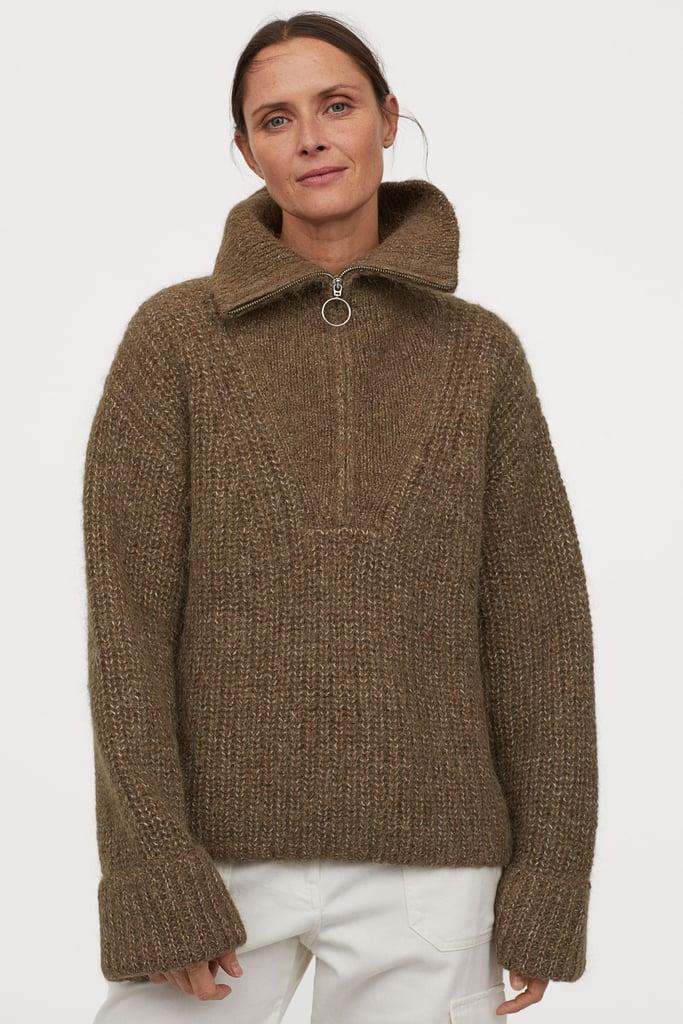 H&M Chunky Knit Wool Sweater