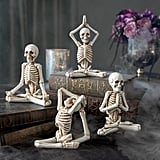 Yoga Skeletons, Set of Four
