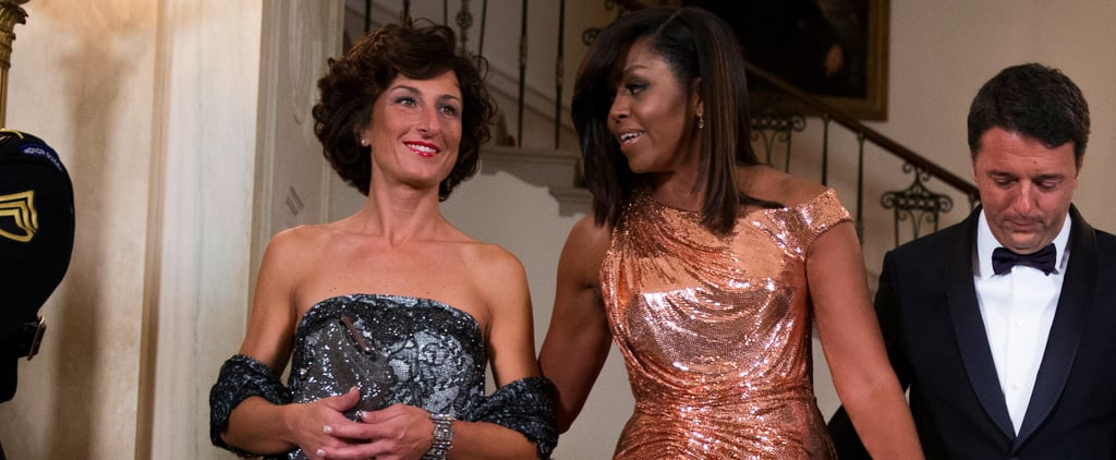 Agnese Landini Didn't Steal Michelle Obama's Thunder —She's Got a Style All Her Own