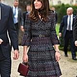 March 2017 Kate Middleton's Outfits on Paris Royal Tour
