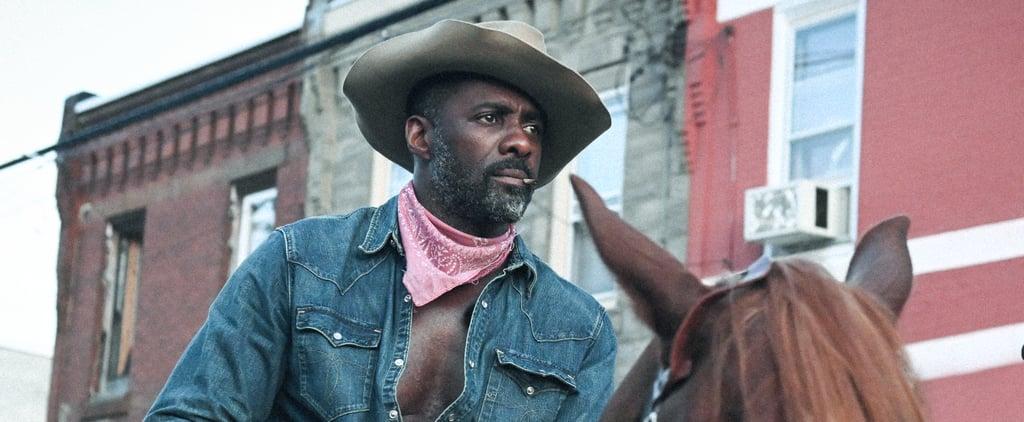 Is Idris Elba Really Riding a Horse in Concrete Cowboy?