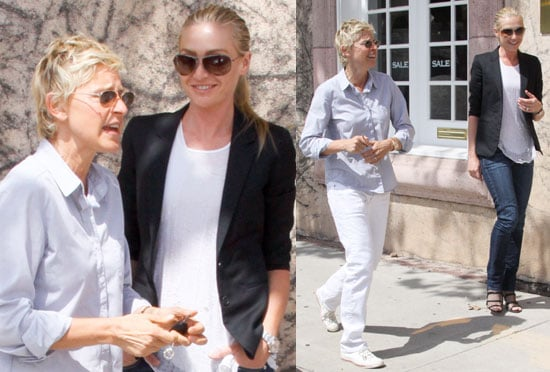 Pictures of Ellen and Portia