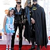 Brooke Burke, David Charvet, and Family