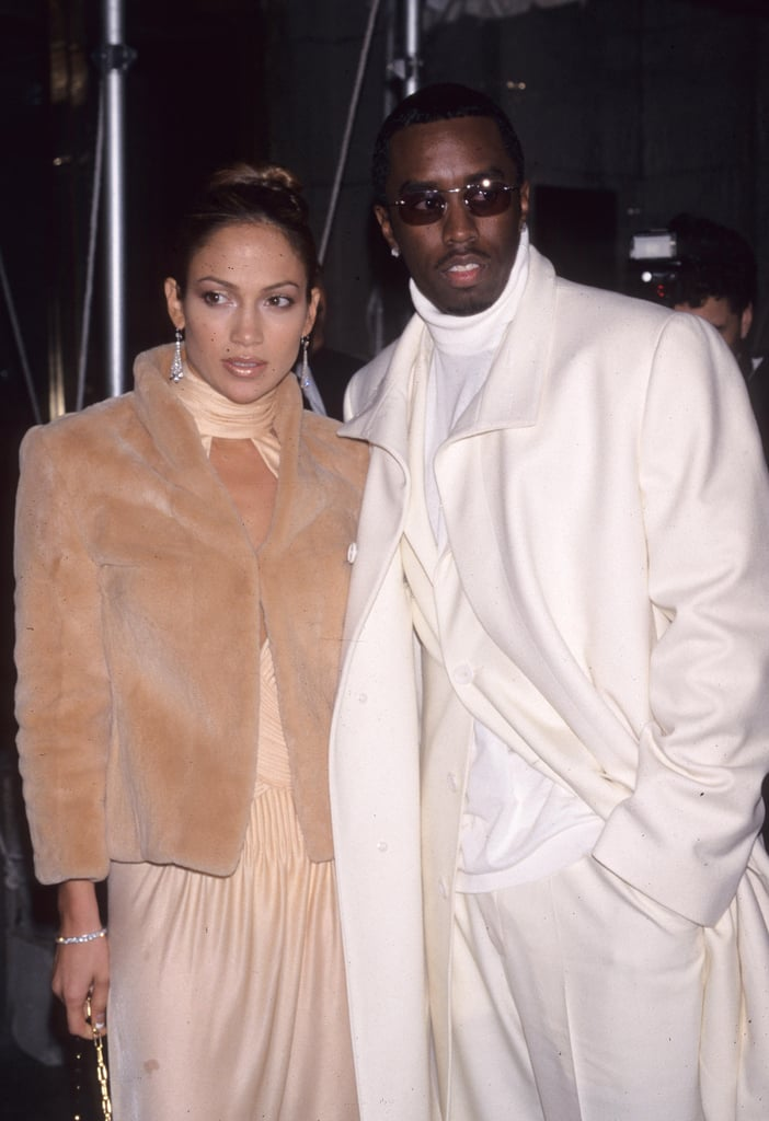 Jennifer Lopez With Puff Daddy in 1999