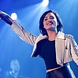 Demi Lovato brought down the house on Monday night at 93.3 FLZ''s Jingle Ball in Tampa, FL.