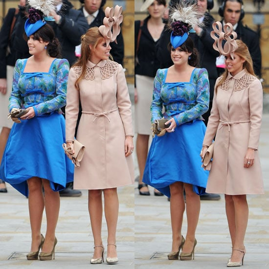 Royal Wedding Guest Pictures Princess Beatrice And