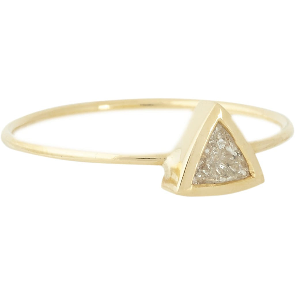 """Jennifer Meyer Trillion Diamond Ring ($2,150) """"I had lunch with Jen this week and could not stop eyeing this ring! I was mesmerized with it."""""""