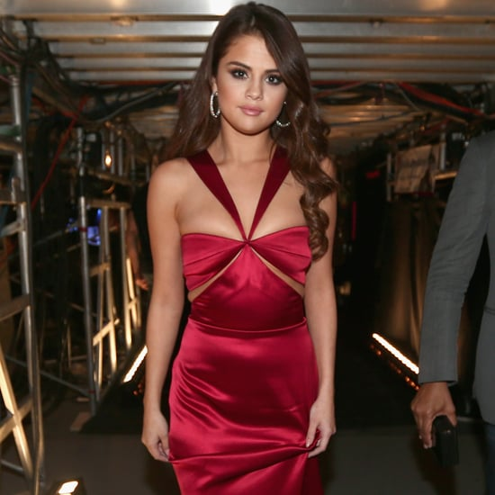 Selena Gomez's Red Cushnie et Ochs Dress at the Grammys 2016