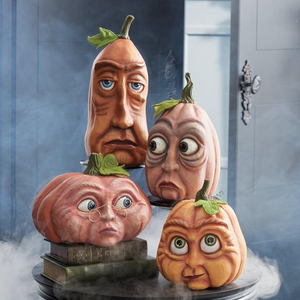 Best 2019 Halloween Decor At Grandin Road: Expressive Halloween Pumpkins