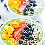 Green Smoothie Breakfast Bowls