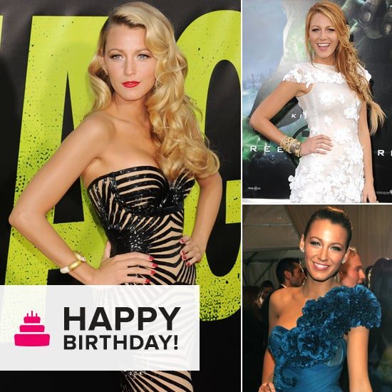 Blake Lively's Top Ten Red Carpet Looks for her Birthday