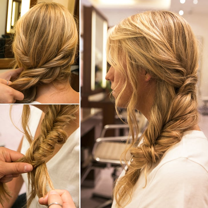 The Effortlessly Chic Side Braid Perfect For Postvacation Hair