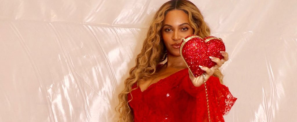 Beyoncé Wears Red Dress on Valentine's Day 2019