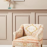 Rug-Printed Sally Accent Chair
