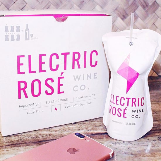 Electric Rose Wine Pouches