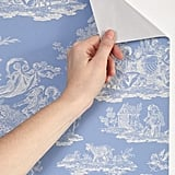 Laura Ashley UO Exclusive Romance Toile Removable Wallpaper