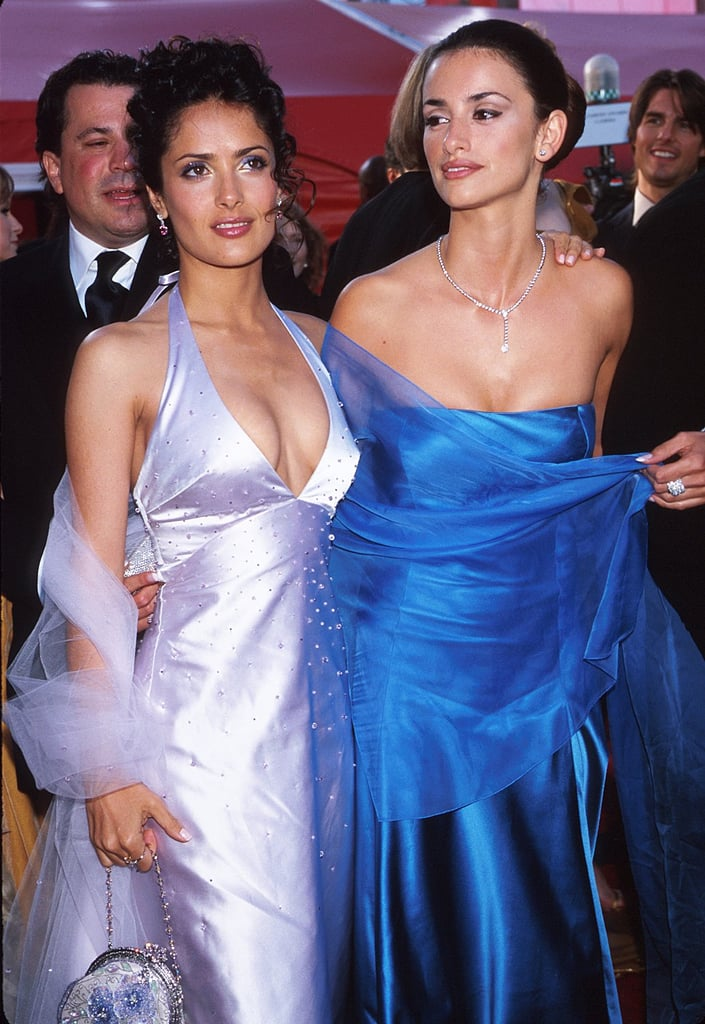 Penélope Cruz and Salma Hayek have been close friends for over a decade and arrived together at the 2002 Oscars. Three years later, Salma was nominated for her work in Frida while Penelope won an Academy Award in 2009 for Vicky Cristina Barcelona.