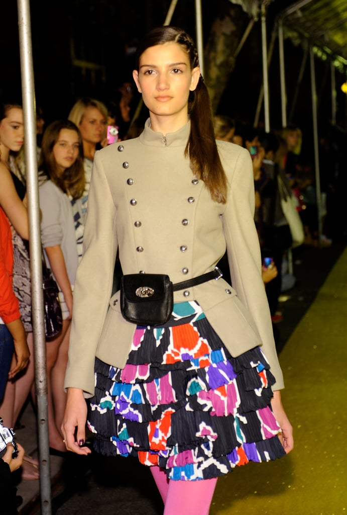 A model in Marc by Marc at the Teen Vogue party