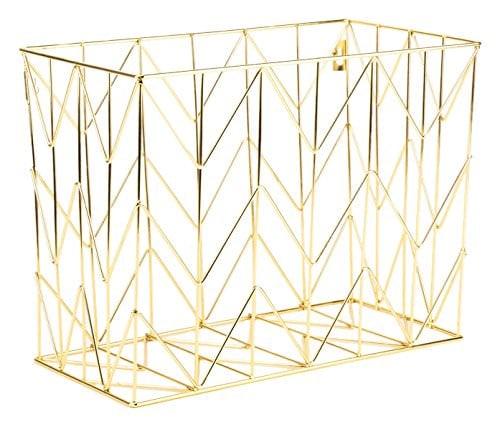 U Brands Metal Hanging File Basket