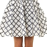 Thierry Colson Mimi Folk-Print Miniskirt