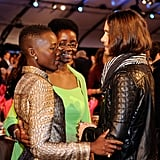 "Jared met Lupita's mom at the Independent Spirit Awards in 2014, just moments after calling Lupita his ""future ex-wife."""