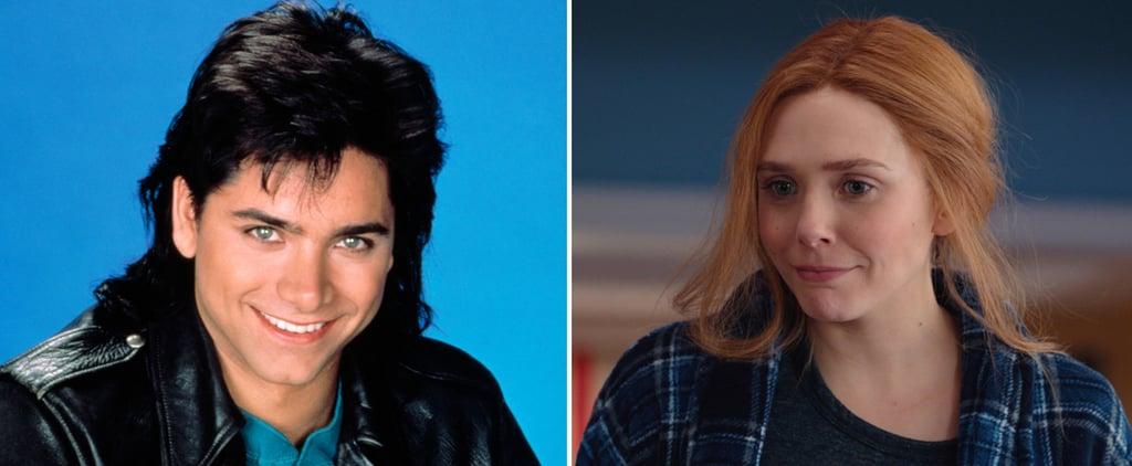 John Stamos Shares Full House Throwback With Elizabeth Olsen