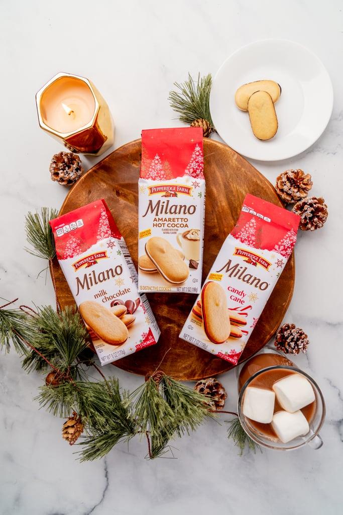 Pepperidge Farm's New Amaretto Hot Chocolate Milano Cookies