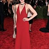 Maggie Gyllenhaal at the Met Gala 2013.