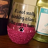 Cat Wine Glass ($13+)