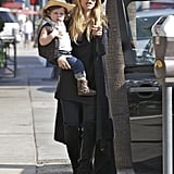 Rachel Zoe took Skyler Berman out in Beverly Hills.