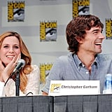 Anne Dudek and Christopher Gorham