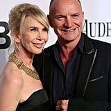 Sting and Trudie Styler: 16 Years